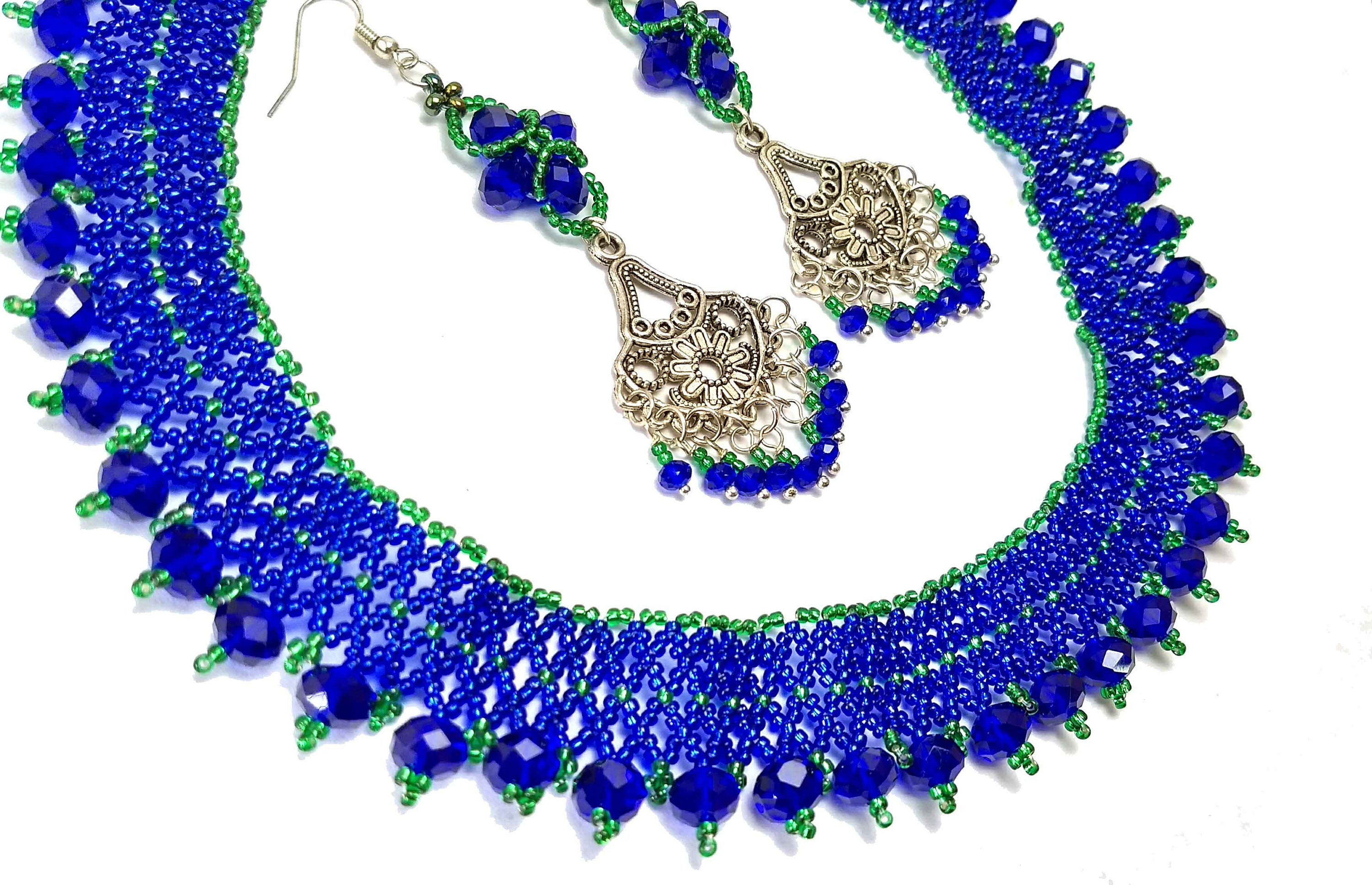 blue products cobalt torea tarepo necklace tarep
