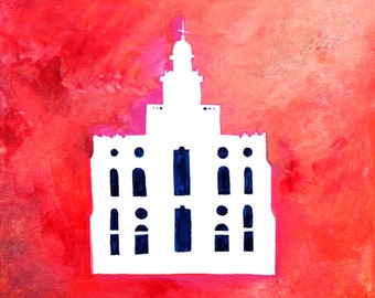 Saint george temple etsy st george utah temple art instant download reheart Image collections