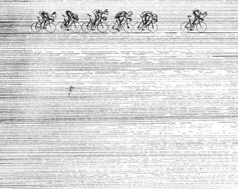 Cycling Print 'Elements 02'