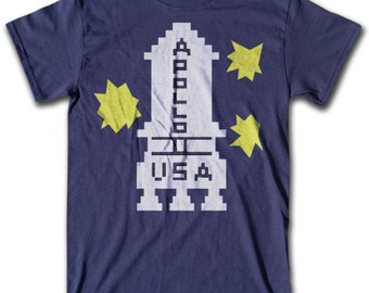 Danny's Apollo 11 T Shirt - Graphic Tees for Men, Women & Children -  Short Sleeve and Long Sleeve Available!