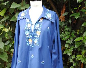 Blue shirt 1970