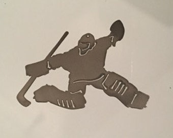 Goalie Ornament