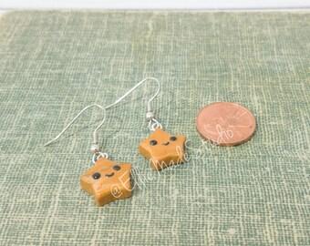 Kawaii Gold Star Earrings