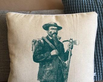 Beige Mountaineer cushion