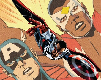 Captain America Sam Wilson Vol 1 1 Cassaday Variant