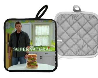 Supernatural Jensen Ackles Dean Winchester Pot Holder