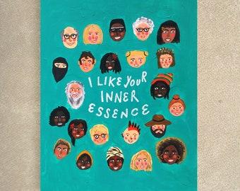 I like your inner essence card