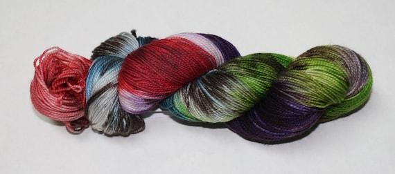 Ready to Ship - Diagon Alley Hand Dyed Sock Yarn - Twist Sock