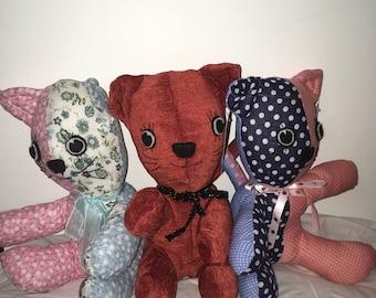 Stuffed Toy Cat