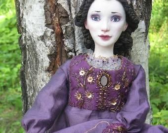 OOAK Art doll Boudoir doll Morgan