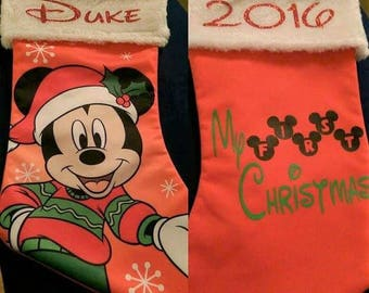 Personalized Stockings and Gifts