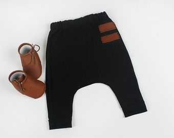 boy joggers, harem pants, baby leggings, baby harem pants, trendy baby clothes, baby Pants, toddler pants, Trendy baby outfit