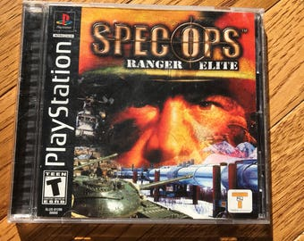 Spec Ops: Ranger Elite - Playstation 1 (PS1)