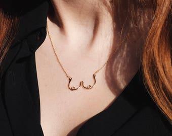 Boob Necklace