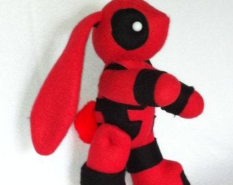 Deadpool Bunny Rabbit Myth-fit Little Plushie Plush