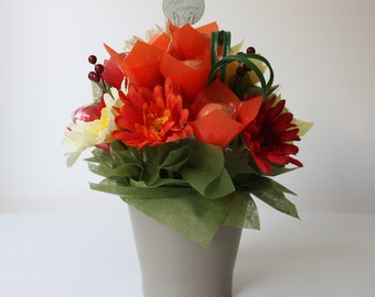SUMMER DREAM Cake Pops Floral Arrangement | Bouquet | Gift | Pot | 12 set. makeforgood