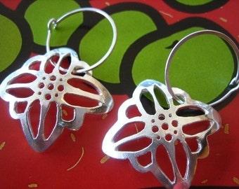 Edelweiss Flower Earrings