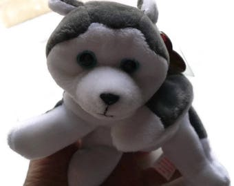 Husky Dog Stuffed Animal, Dog Lover Gift, Ty Beanie Babies, Pet Toy, Soft Kids Toy, Baby Shower Gift, Graduation Gift, Teacher Gift