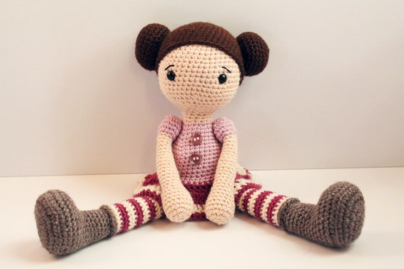 Amigurumi Doll Patterns : Pattern doll crochet pattern amigurumi doll pattern