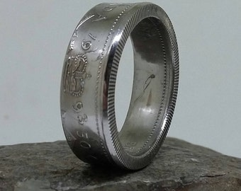1993 Canada Half Coin Ring  Handcrafted
