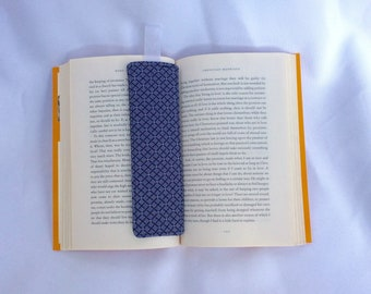 Modern Geometric Fabric Bookmark
