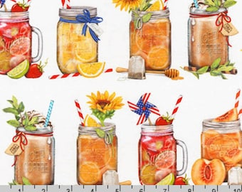 Everyday Favorites - Mason Jar Drinks by Mary Lake-Thompson from Robert Kaufman