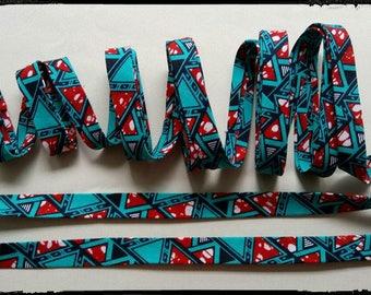 Bias wax African triangle pattern
