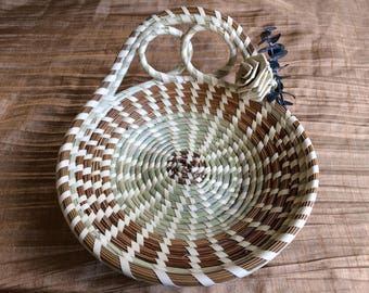 Round Two Loop Sweetgrass Basket
