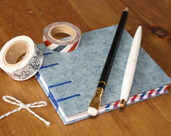 Coptic Stitch Envelope Journal