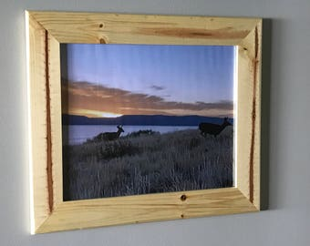 Rustic Pine Picture Frame