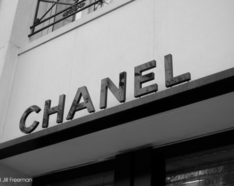Chanel Store in Paris - Photo Print