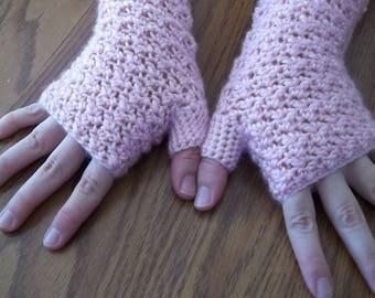 Fingerless gloves, arm warmers, hand warmers, wrist warmers, texting gloves, crochet gloves, winter gloves, gauntlets