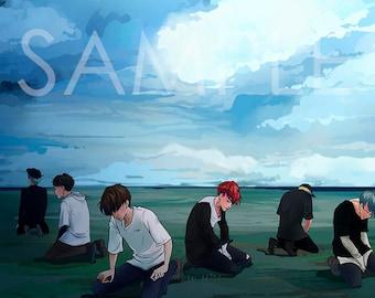 BTS Bangtan Boys SAVE ME | RapMonster, Jin, Jimin, Jungkook, V, Suga, JHope | Prints