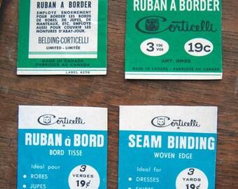 Vintage Seam Binding Magnets