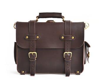 Classic Leather Messenger Bag Men, Leather Briefcase Mens, Leather Laptop Bag Women, Backpack Satchel, Crossbody Bag, Leather Bag Men