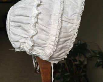 Victorian/Edwardian doll bonnet