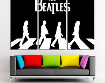The Beatles, The Beatles art, The Beatles canvas, The Beatles wall art, The Beatles photo, The Beatles print, The Beatles decor, Canvas art