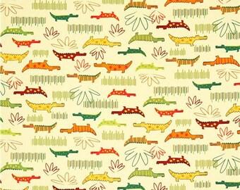 Robert Kaufman fabric ALLIGATORS