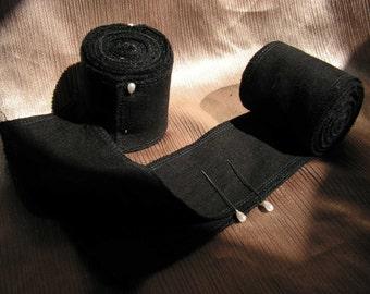 Leg Wraps, Black