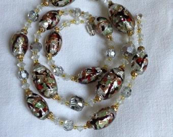 1950's Murano glass necklace.