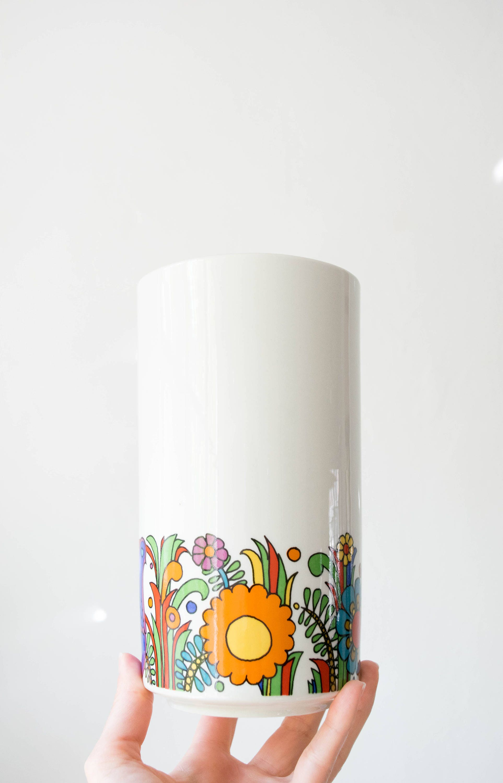 Mid Century Acapulco Vase // Villeroy & Boch // Bohemian Modern Home ...