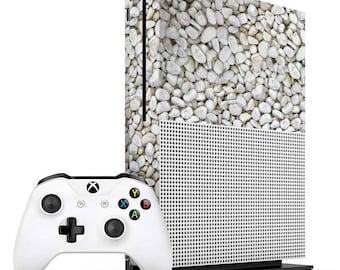 White Pebbles Xbox One S Skin