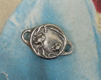 Jewelry Clasp Pewter Metal Finding Magnetic