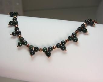 Triple Garnet Bracelet