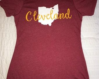 Cleveland Shirt, CLE, Ohio, Cleveland
