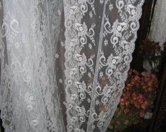 Victorian pattern Chantilly Lace