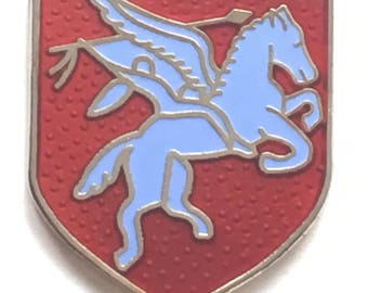 Airborne Pegasus Military Enamel Lapel Pin Badge