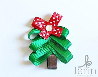 Christmas Bows.Christmas Hair Bows.Christmas Clip.Christmas Hair Clips.Holiday Hair Bows.Holiday Hair Clips.Christmas Tree Hair Clip.Xmas