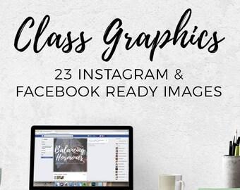 Class Graphics - Hormone Balancing || Downloads