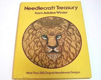 Needlecraft Treasury from Adalee Winter, Vintage Book